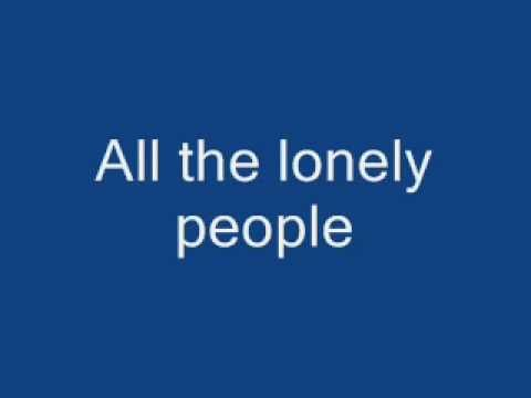 eleanor rigby lyric the beatles: