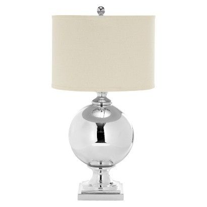 you are here. Target home home décor lamps & lighting table lamps Safavieh Icott Mercury Glass Table Lamp - White/Silver Product View zoom in. mouse over image to zoom in. sale price$149.99 72 Hour Sale - Extra 10% Offfree shipping on all items- happy holidays!view detailsfor special offers Average of 0.0 out of 5 stars from 0 reviews - read reviews (0) no ratings write a review quantity:  - decrease quantity+ increase quantity add product essentials Target 2-Year Replacement Plan (covers ...