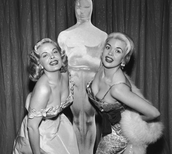 Cleo Moore and Jayne Mansfield | Vintage | Pinterest