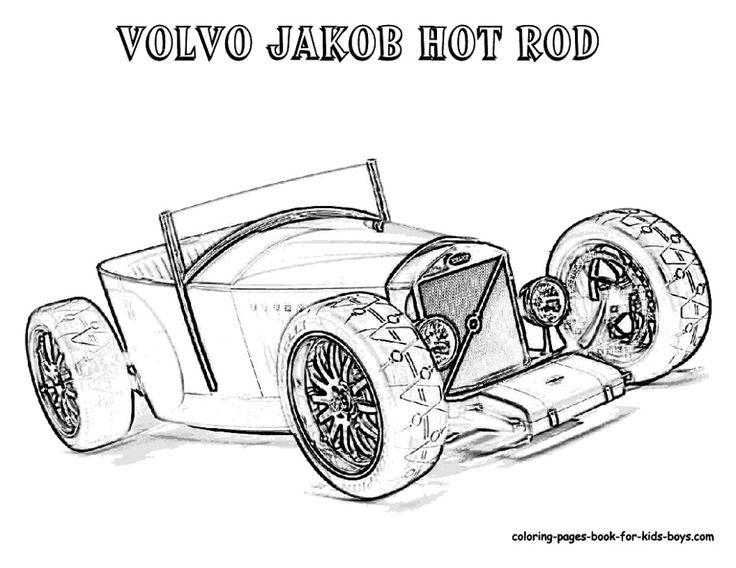 american muscle car coloring pages - photo#21