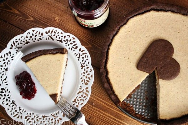 Recipe: Gingerbread Ricotta Tart (Cheesecake) I made this today, but w ...