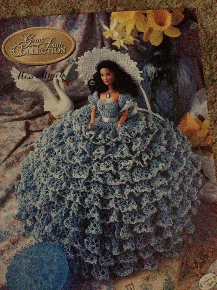 Barbie doll crochet ball gown- my current project to be sold on etsy ...
