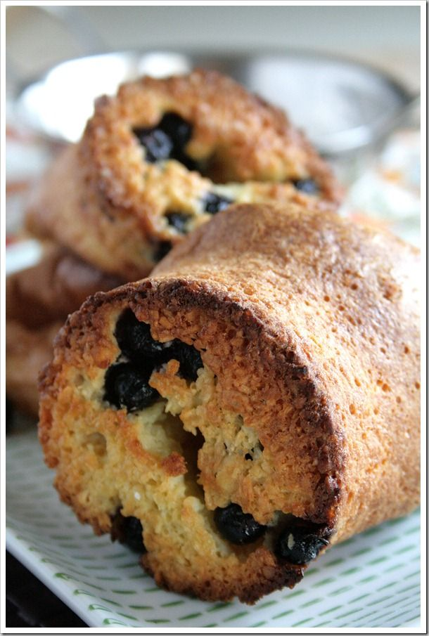Toasted Coconut and Blueberry Popovers | Desserts and Sweets | Pinter ...