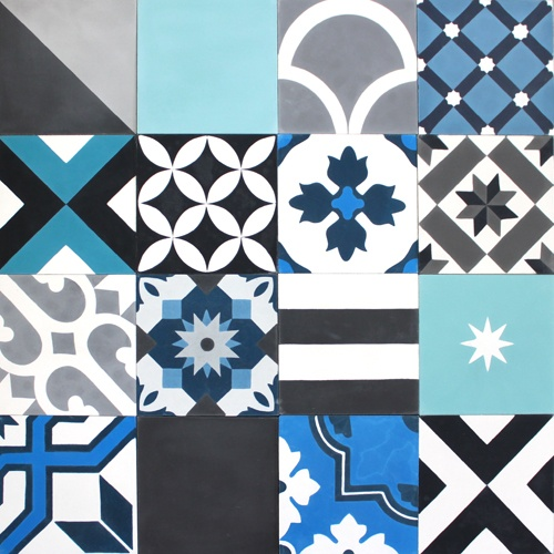 Mosaic Del Sur Hexagon