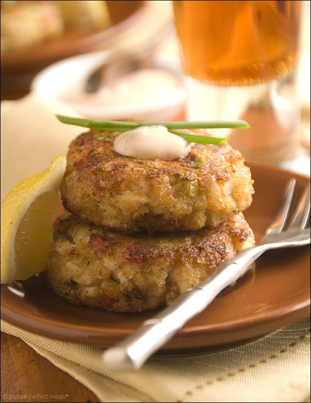 Crab Cake Bites with Spicy Rémoulade | Appetizers & Starters: Hot | P ...