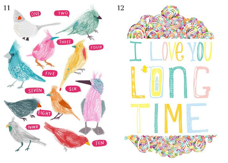 Prints For Kids Rooms : Top 12 art prints for childrens rooms via WeeBirdy.com