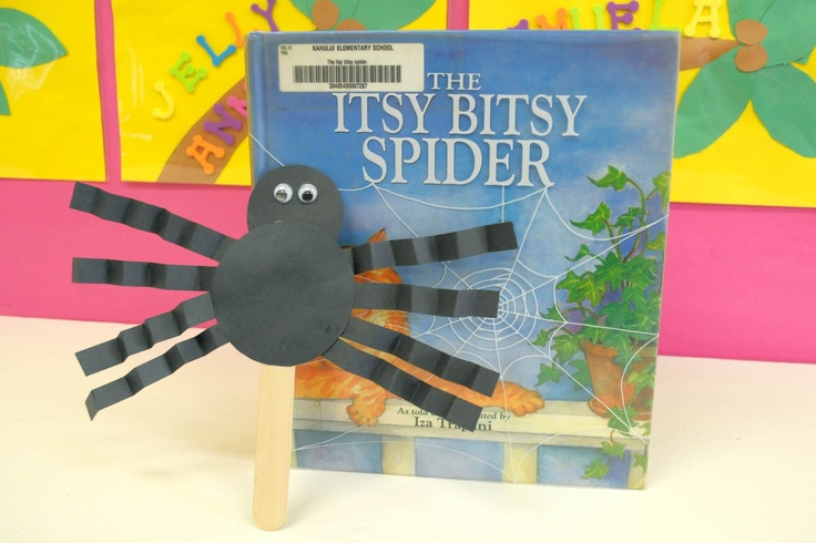 Itsy Bitsy Spider Craft for Kindergarten