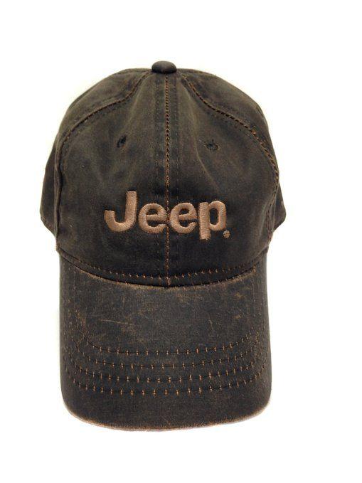 Jeep heavy wash hat