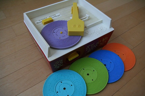 Fisher Price Record Players