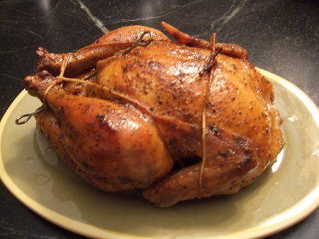 Roast Sticky Chicken-Rotisserie Style | CHICKEN | Pinterest