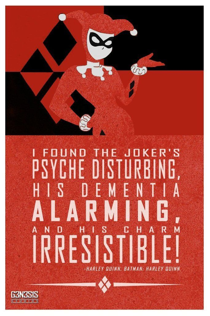 Joker And Harley Quinn Love Quotes. QuotesGram