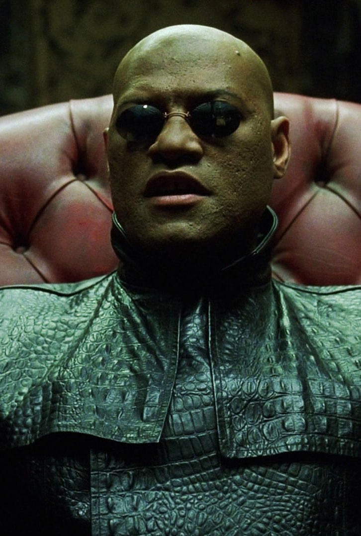 laurence fishburne matrix - photo #1