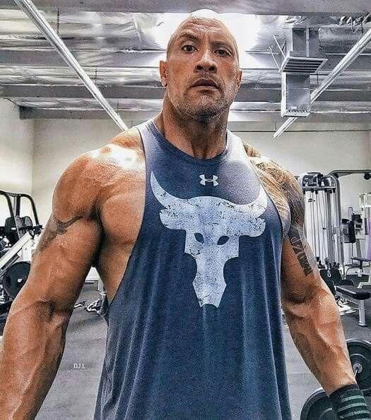The Rock slams Under Armour CEO photo