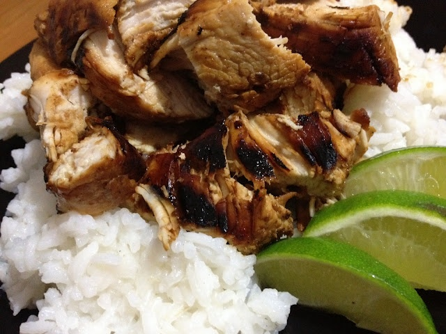 Bargain Bites: Jamaican Jerk Turkey Breast over Lime Coconut Rice
