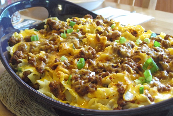 Copacetic In Carolina: Mangia Monday: Sour Cream Noodle Bake