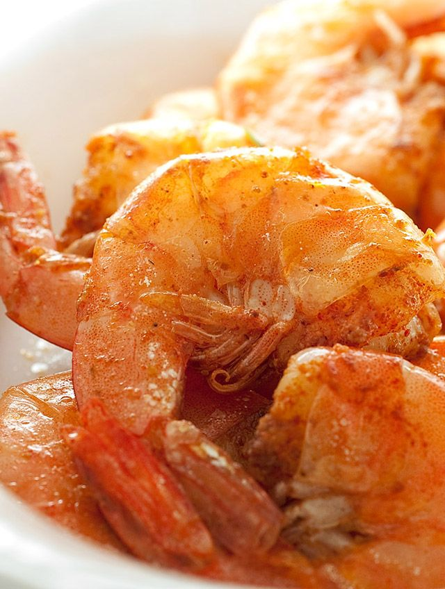 Spicy Peel and Eat Shrimp | I want to put it in my mouth... | Pintere ...