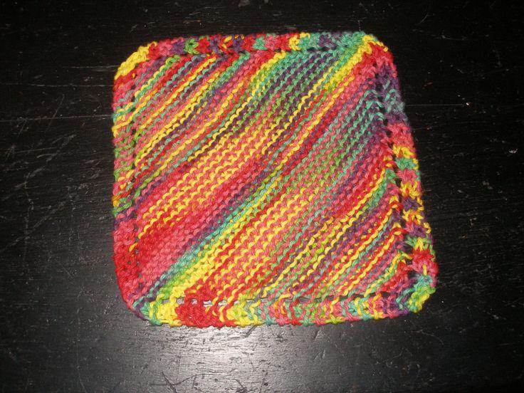 Rag Knitting Patterns : Pin by Carol Peacock on craft Pinterest