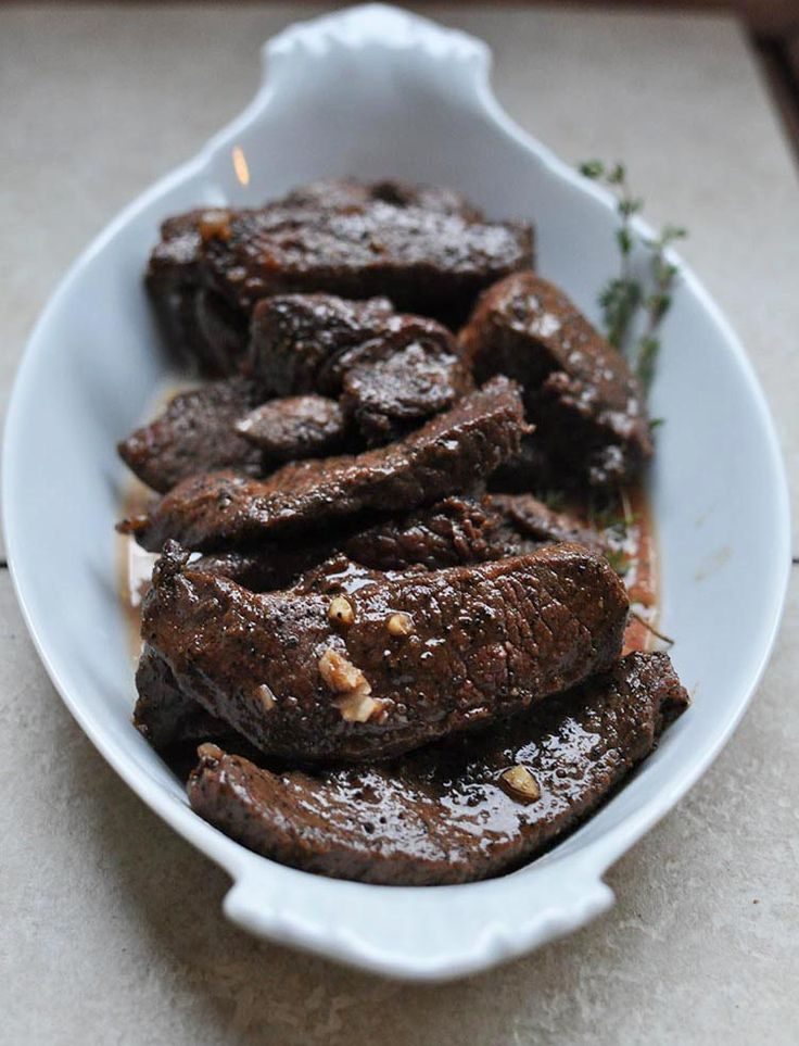 Coffee-Rubbed Steak Strips from Tammy Credicott {Make Ahead Paleo ...