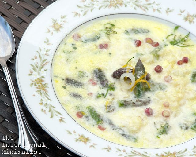 ... soup chilled asparagus soup creamy asparagus soup grilled ramps and