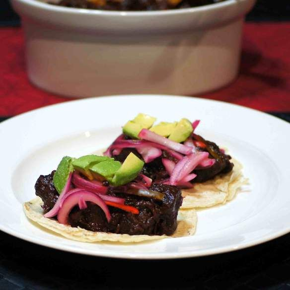 ... Wine Braised Beef Tongue Tacos | Absolutely Delicious - Main Dish
