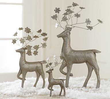 Christmas reindeer decor