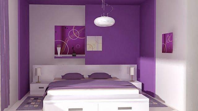 quarto roxo decoração de ambientes Pinterest ~ Quarto Rosa E Roxo