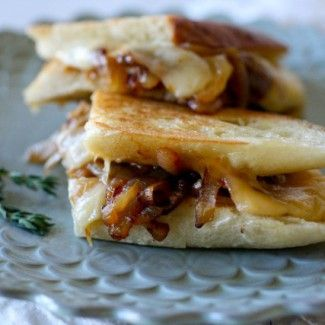 French Onion Grilled Cheese Recipe « Go Bold with Butter