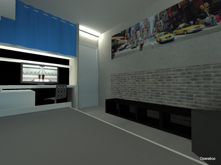 Chambre du0026#39;ado sur le thu00e8me urbain : Deco : Pinterest