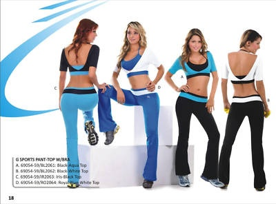 Exclusive Women Workout Clothes made in Supplex on eBay
