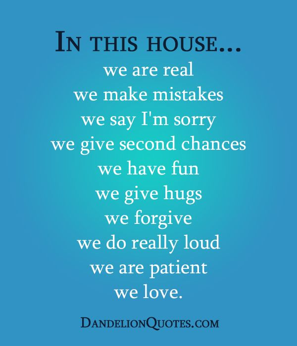 In this house we are real we make mistakes we say i m sorry we give second chances we have fun - Seven mistakes we make when using towels ...
