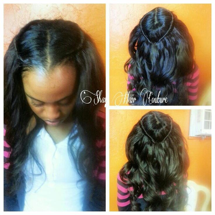 Pretty sew in hairstyles pinterest