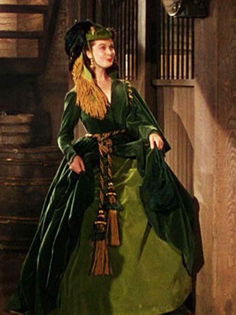 Scarlett S Curtain Dress Gone With The Wind Pinterest