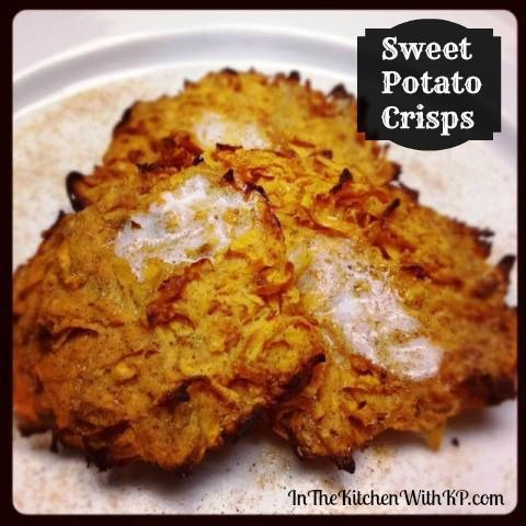 Oven Baked Sweet Potato Crisps #Recipe - In The Kitchen With KP