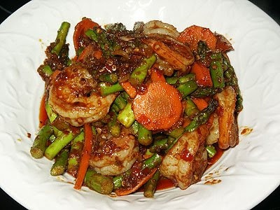 Little Corner of Mine: Sambal Asparagus with Shrimps