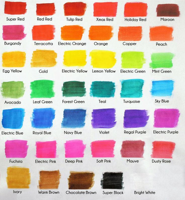 Americolor Gel Color Chart Agcrewall