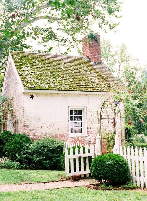 whitewashed brick cottage Tiny Houses Prefab and Kit