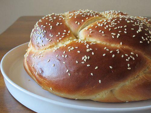 Round braided challah for Rosh Hashanah. | Jewish Traditions | Pinter ...