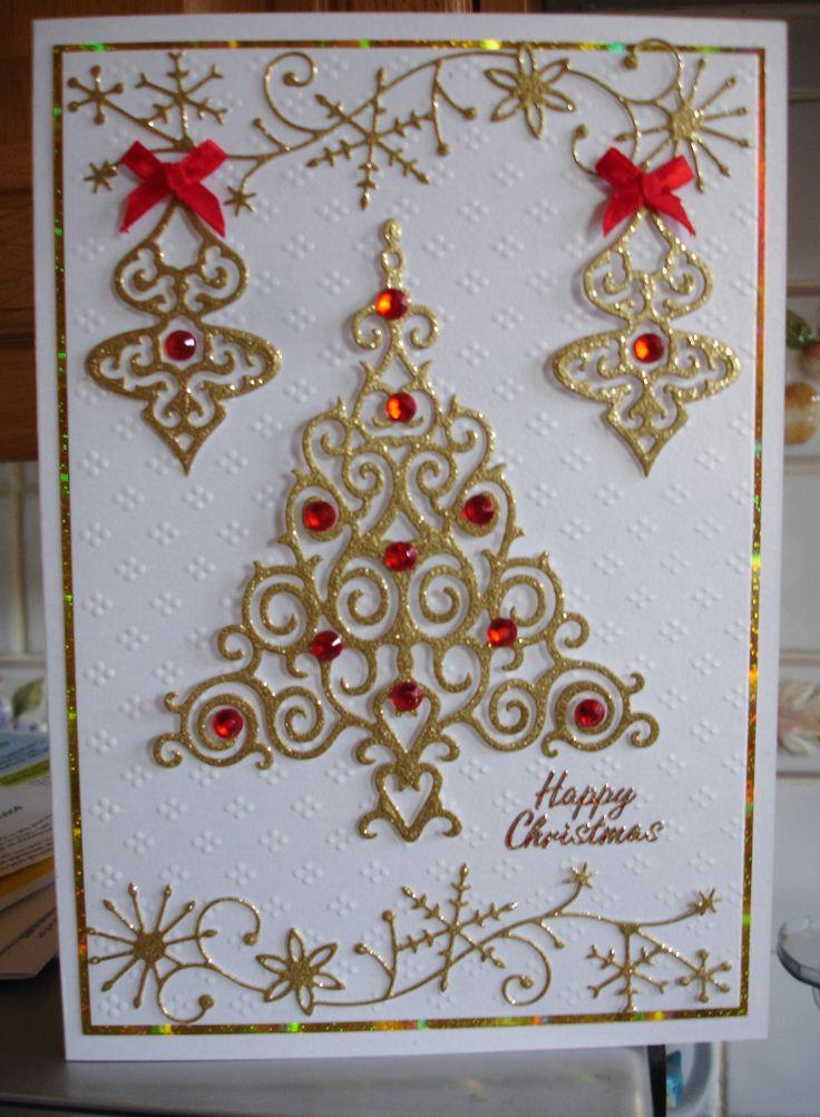 spellbinders christmas   Handmade cards Annscards4u   Pinterest