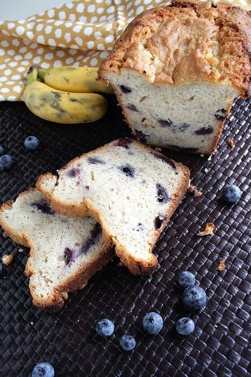 Blueberry Cream Cheese Banana Bread Recipe — Dishmaps