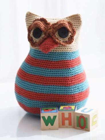 Free Crochet Pattern For Owl Toy : Pin by Happiness Crafty on Crochet & Knitting Pinterest