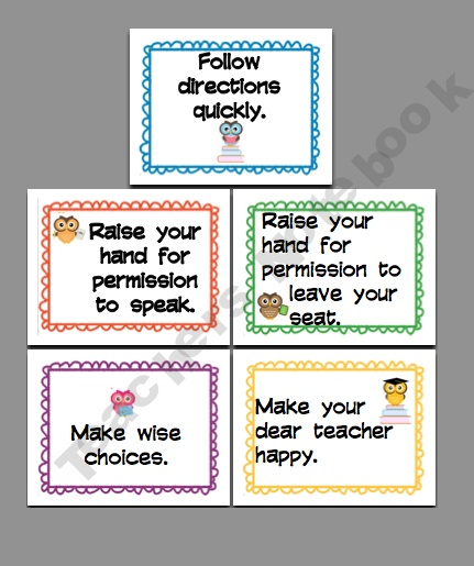 Rules Procedures: Mrs. Tinik / Classroom Rules & Procedures