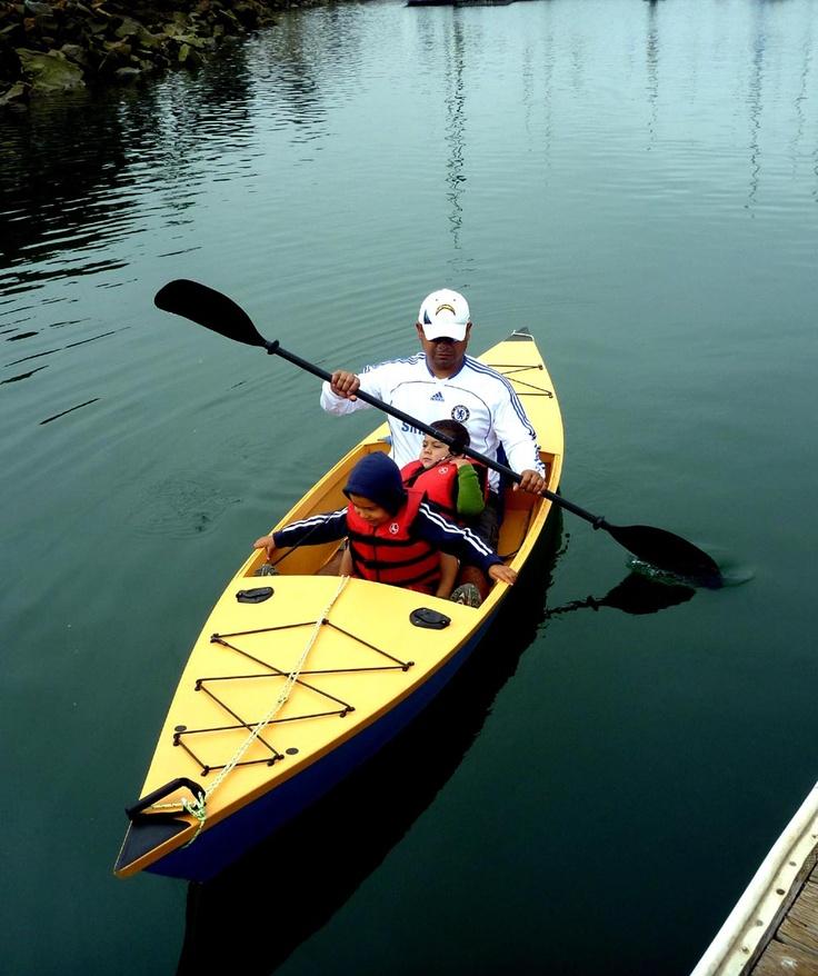 Huntington Harbor Kayak! free plans at www.spirainternational.com