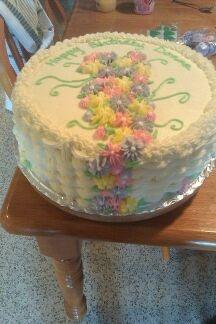 Donna's birthday cake | Cakes | Pinterest