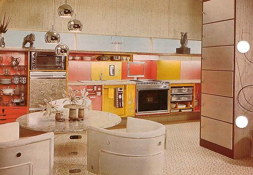 1970s kitchen mirror dome lights ideas for a 70s for 70s kitchen ideas