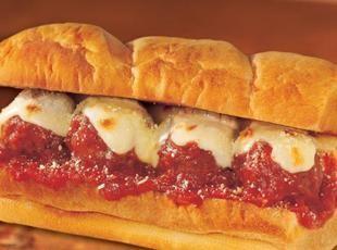 Meatball Nirvana Hoagie Recipe | food | Pinterest
