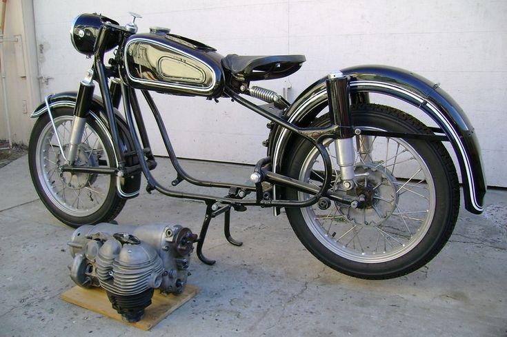 1961 Bmw R27 Under Restoration