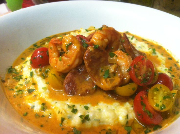Easy, updated shrimp and grits recipe | Food/Cooking | Pinterest