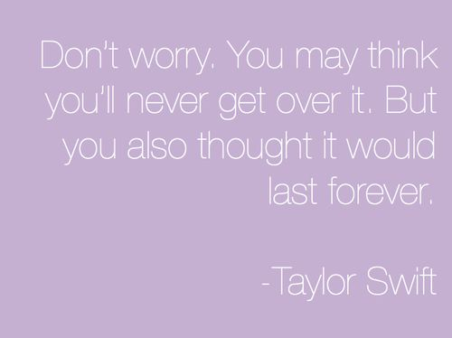 Oh Taylor, you're so wise.