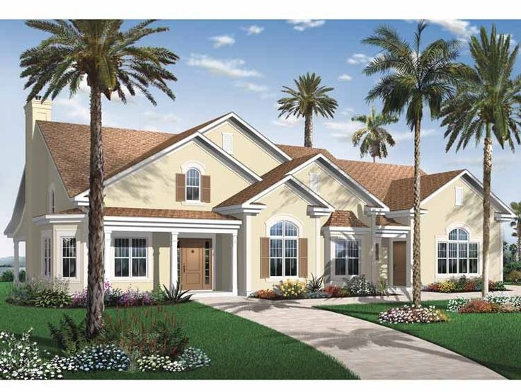 House plans and design modern house plans eplans for Eplans mediterranean house plans