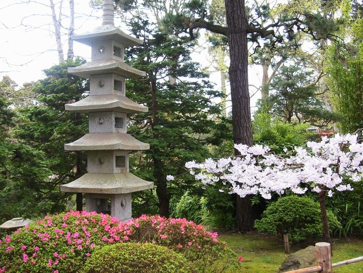 San Francisco Japanese Garden Gardens Pinterest